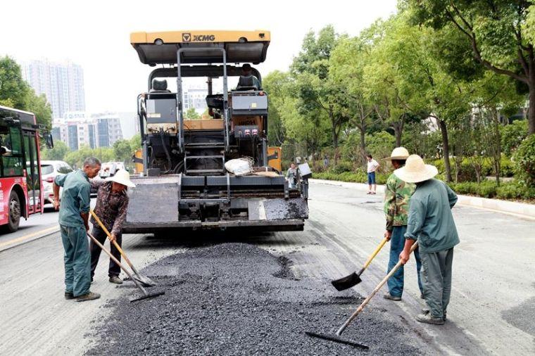 [江苏]沥青路面旧路改造工程施工方案
