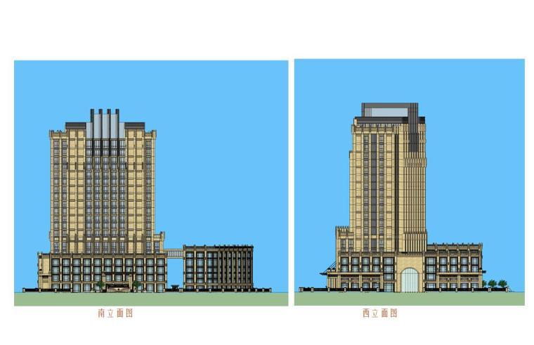 新生堂医院建筑设计方案文本(CAD+SU+文本)