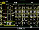 5层砖混结构电力大队办公楼
