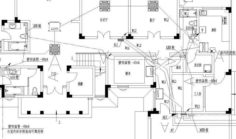 某别墅电气设计施工图_7