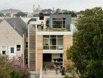 五口之家,中央天井式住宅设计