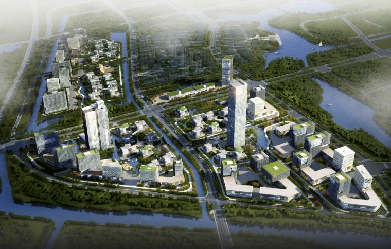 [江苏]通州软件科技园区城市规划方案文本(商务中心,体育中心)