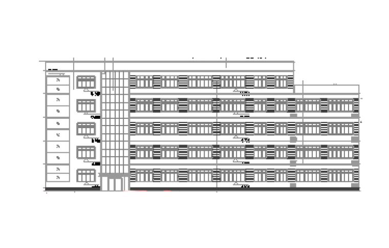 某学校全套建筑施工图纸(含学术报告厅)