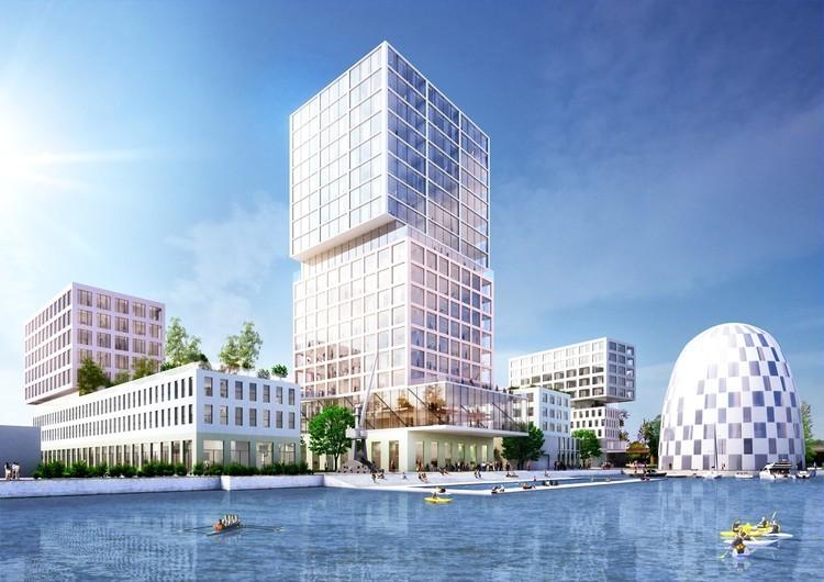 MVRDV 赢得了汉堡创新港口总体规划竞赛