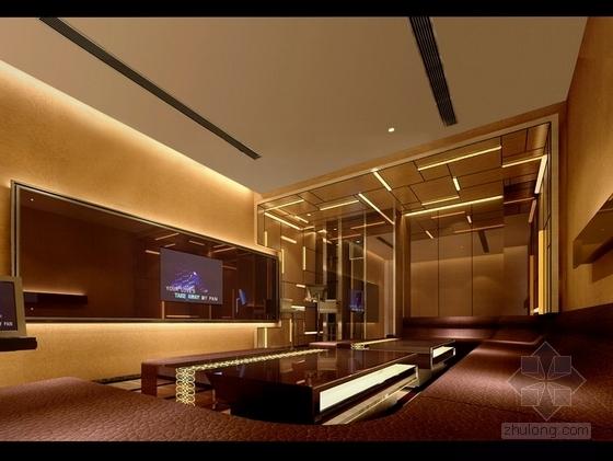 [石家庄]大型企业集团旗下高档现代KTV室内设计施工图(含效果图) 效果图