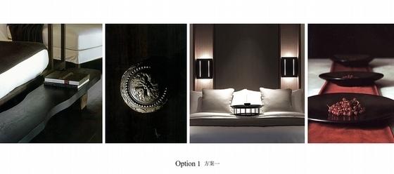 [北京]简约中式艺术酒店室内设计概念方案-[北京]简约中式风格艺术酒店室内设计概念方案客房方案