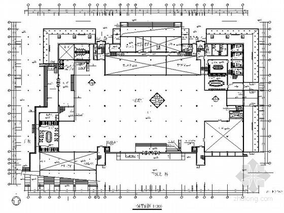 [广东]某华侨广场会展中心施工图
