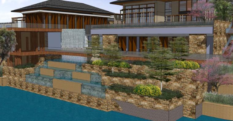 [北京]雁栖湖国际会都景观设计-AECOM(别墅景观,酒店景观)