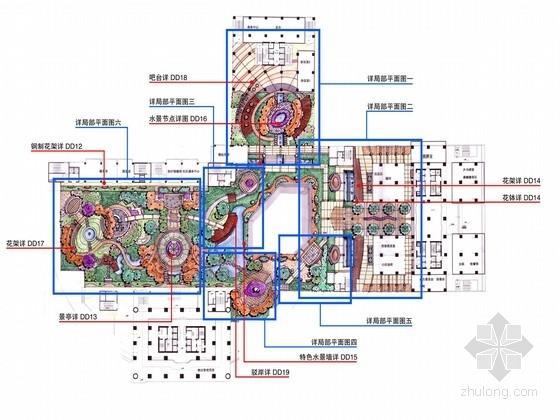 公寓景观扩初设计(屋顶花园部分)