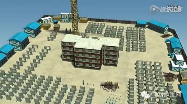 万科出品:大连万科城装配式施工全流程BIM演示