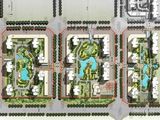 [河南]绿色宜居住宅区规划设计方案文本