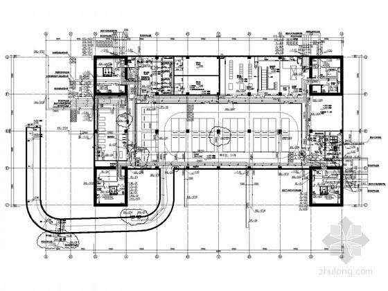 [贵州]2万平展览馆建筑给排水施工图(大空间智能灭火 雨水回用系统)