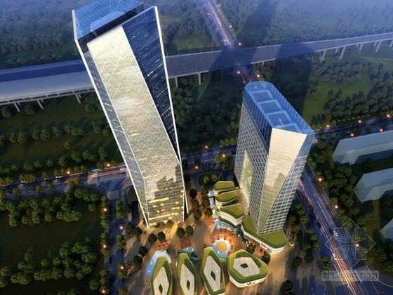 [鎮江]三十六層商業綜合體建筑設計方案文本