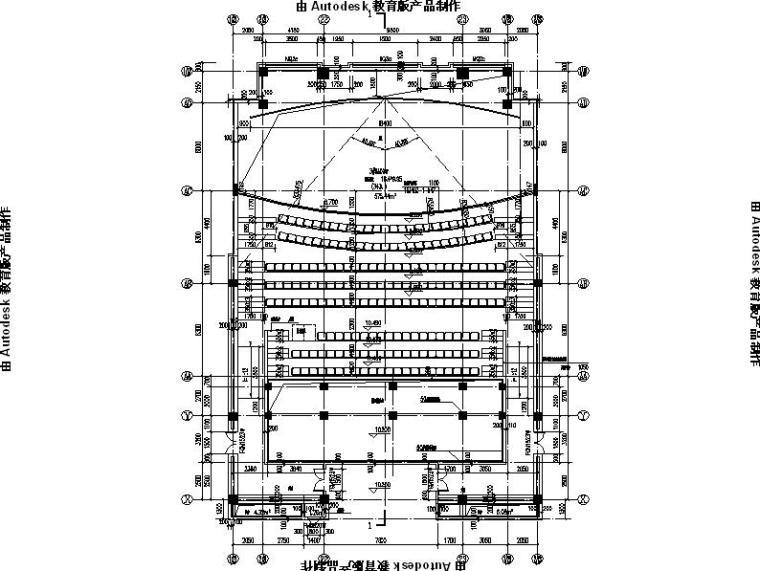 [内蒙古]四层新古典风格多功能文化中心建筑施工图(16年最新)_8