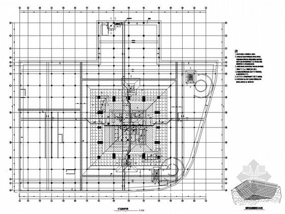 [浙江]高层建筑地下连续墙施工图