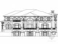 [北京]2层欧式风格别墅设计施工图(含效果图)