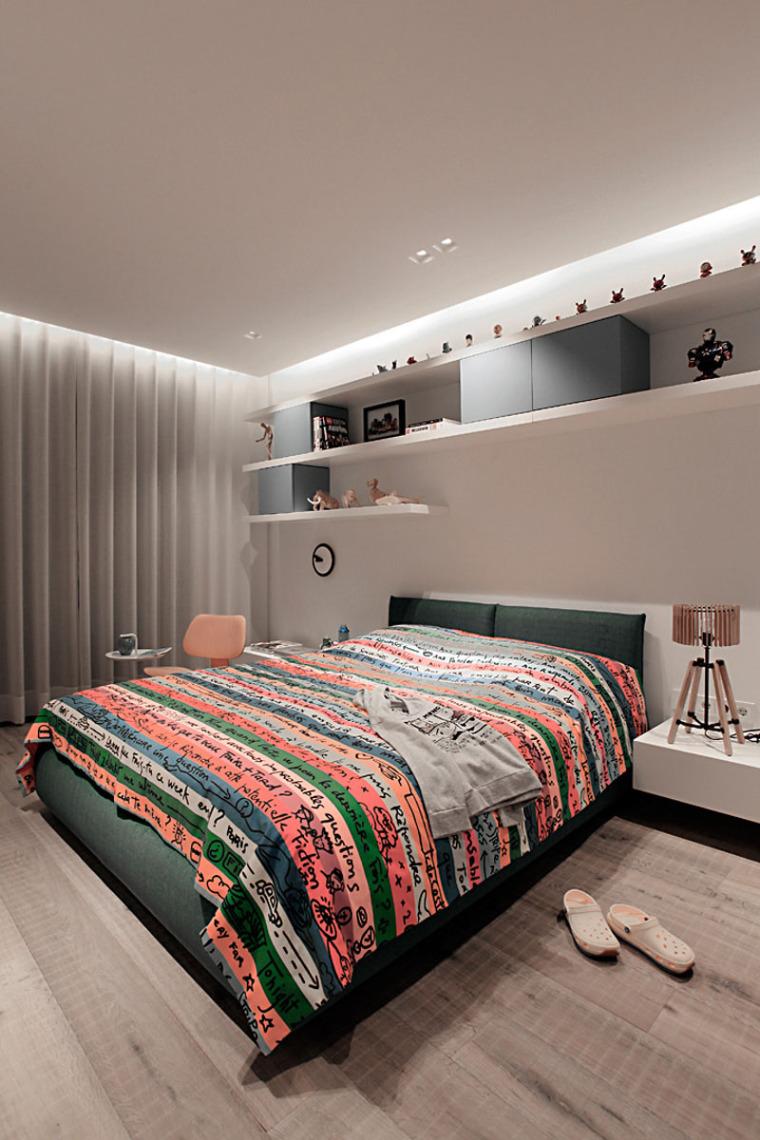 谁说青少年卧室最难设计?呶这里有14个例子_15