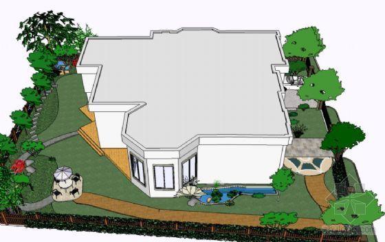花园别墅景观设计方案