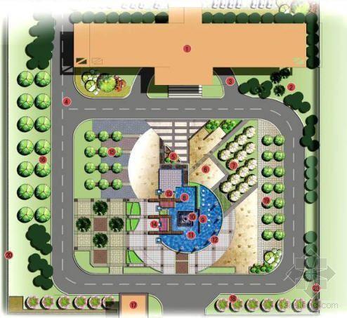 浙江经济开发区景观设计方案全套