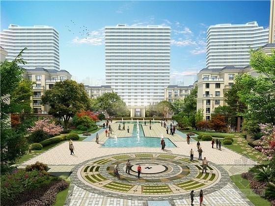 [重庆]现代风格住宅小区规划设计方案文本(含CAD和SU)