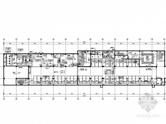 [安徽]监督检验中心通风防排烟系统设计施工图(人防工程)