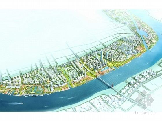 [上海]滨江总体城市景观规划方案(知名规划研究院)