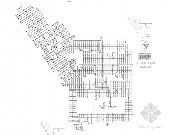 [安徽]超高层综合体建筑给排水消防施工图