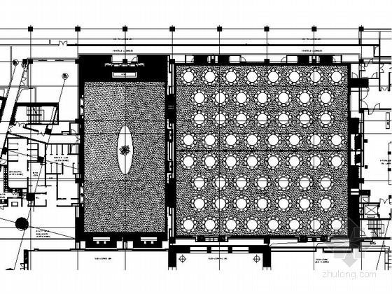 [北京]知名酒店宴会厅室内施工图