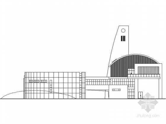 [湖州]某职业技术学校四层学生活动中心建筑施工图