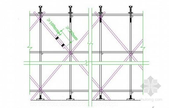 [河北]框架结构办公楼工程高大模板施工方案(详细计算书)