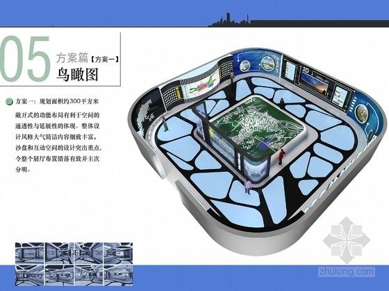 [河南]现代国土资源管理系统展厅设计方案图