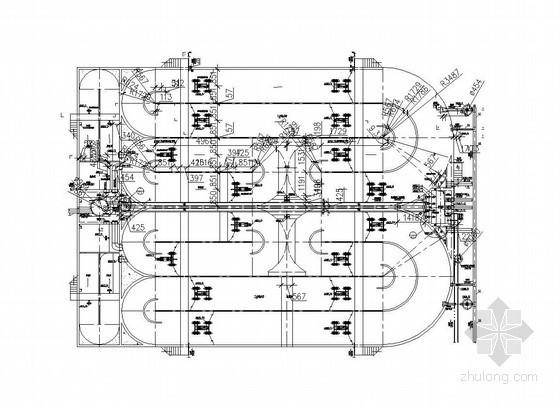Carrousel氧化沟及污泥泵房施工图纸