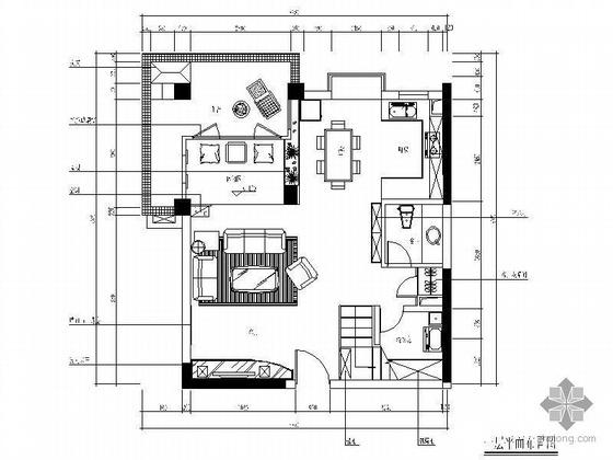[重庆]花园跃层样板间设计图(装饰+水电)