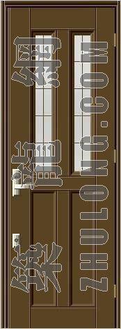 门贴图12