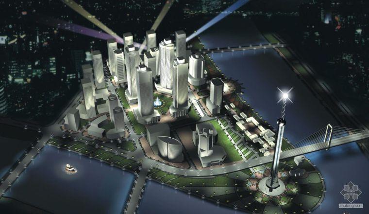 浙江宁波滨水区域城市景观设计