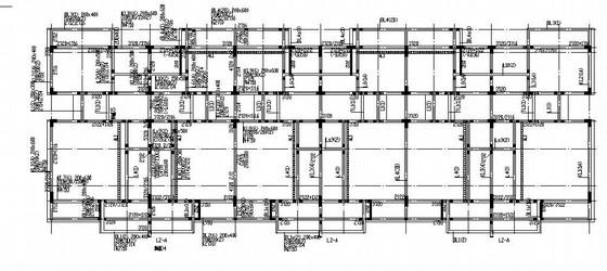 [湖南]地下1层地上3层框架住宅结构施工图(6联排)