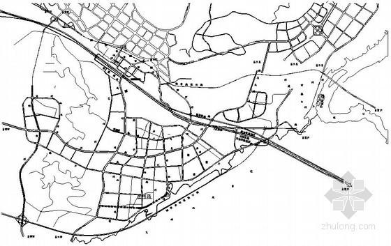 [重庆]工业园市政道路给排水全套施工设计图