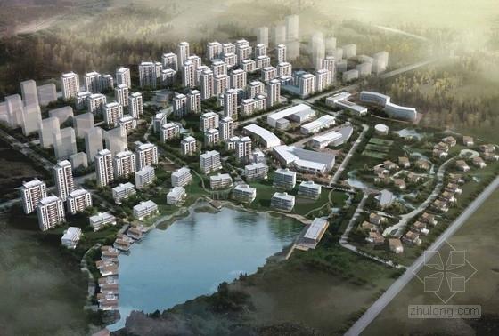 [天津]现代风格住宅区规划及单体方案文本