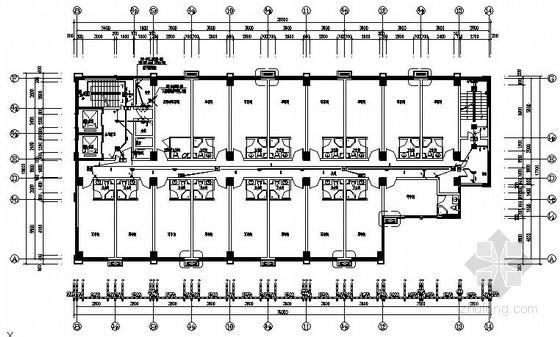 [重庆]某小区商业楼电气全套施工图