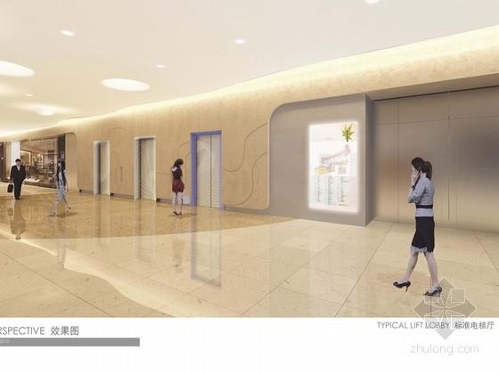 [重庆]时尚商业广场概念方案设计图 效果图