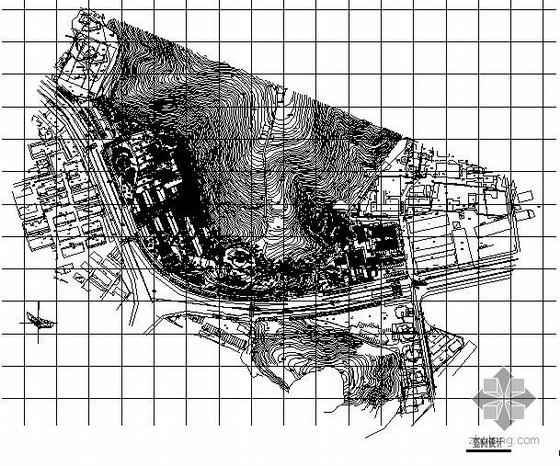 浙江省瑞安市广场景观建筑施工图