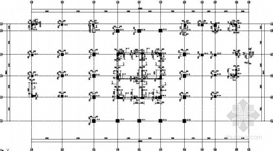 [安宁]16层现浇框架核心筒结构施工图
