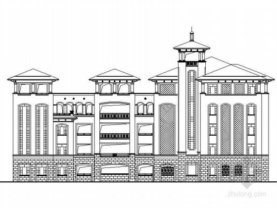 [江苏]某小学五层教学楼欧式建筑施工图