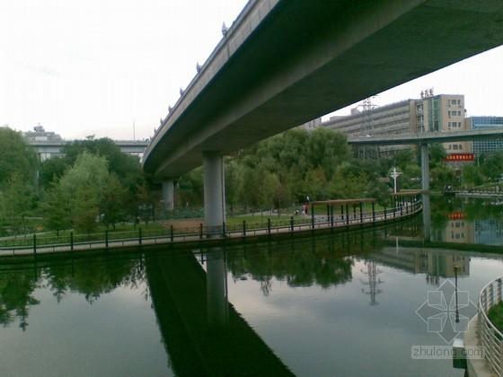 重庆市北碚区某跨河桥施工方案