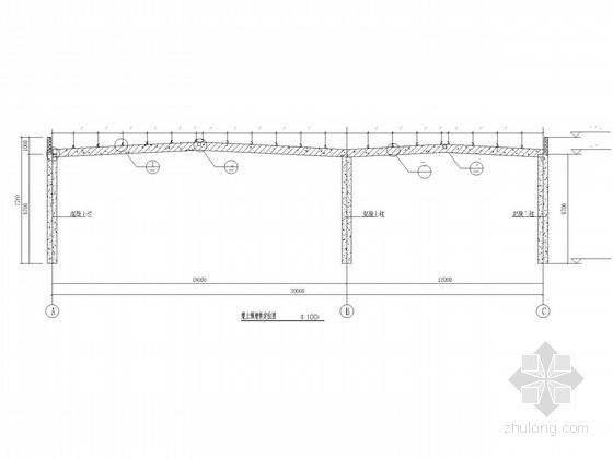 30米连跨钢屋架结构施工图