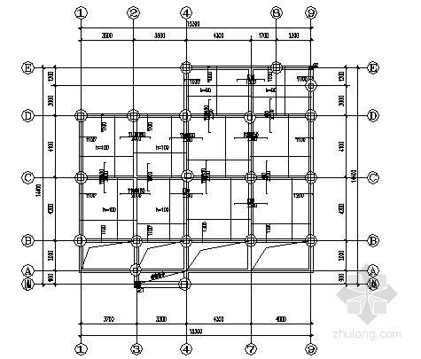 4层框架结构别墅结构施工图(含加层)