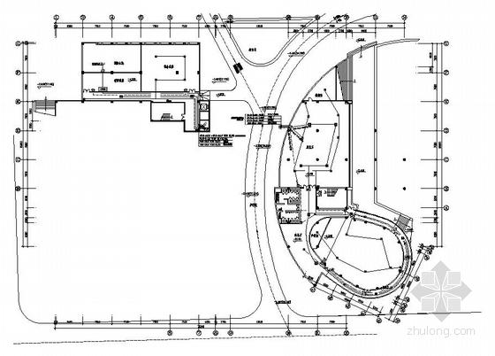 某大学图书馆火灾报警电气施工图