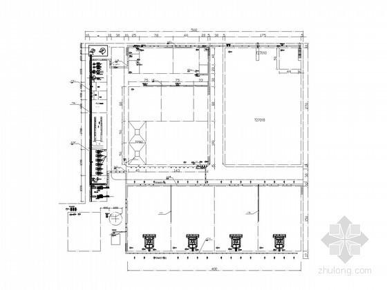 [河南]大型化工厂污水处理电气设计图纸140张