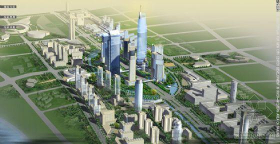 [南京]某新城中心区城市设计国际竞赛设计文本