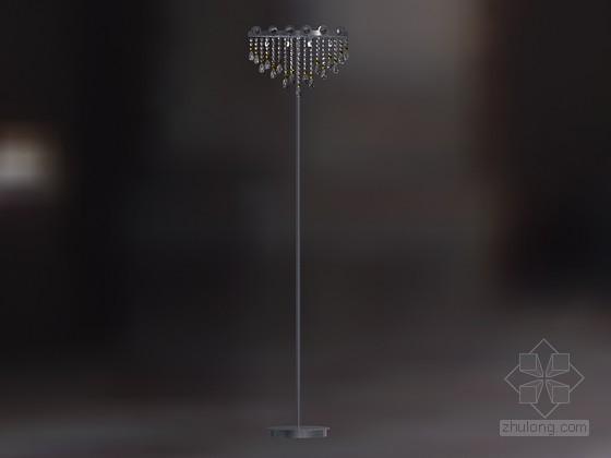简约时尚落地灯3D模型下载